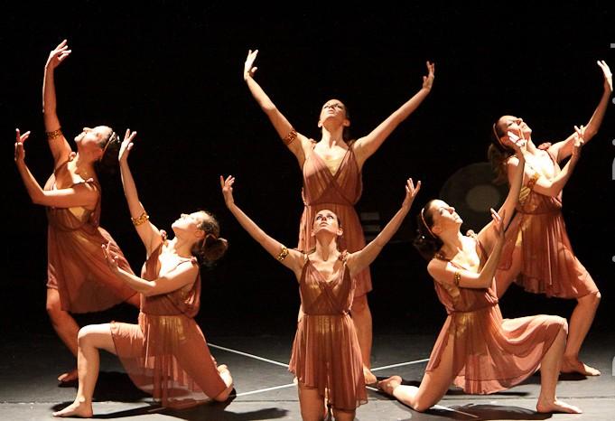 """Spettacolo """"Quattro passi di danza al Cinema"""" 12 giugno 2011 Teatro Martinitt Milano"""